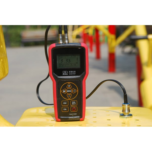 Solid NDT - UItrasonic Thickness Gauge X300 With EE (Ready Stock)