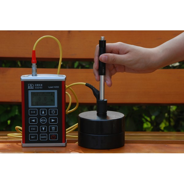 Solid NDT - Lpad H210 Leeb hardness tester with block (Ready Stock)