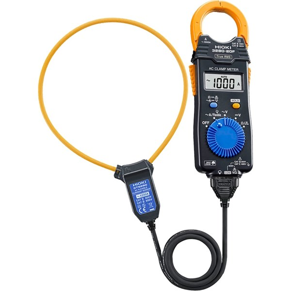 Hioki 3280-90F Clamp On Hi Tester (TRMS) With CT6280 Flexible AC Clamp