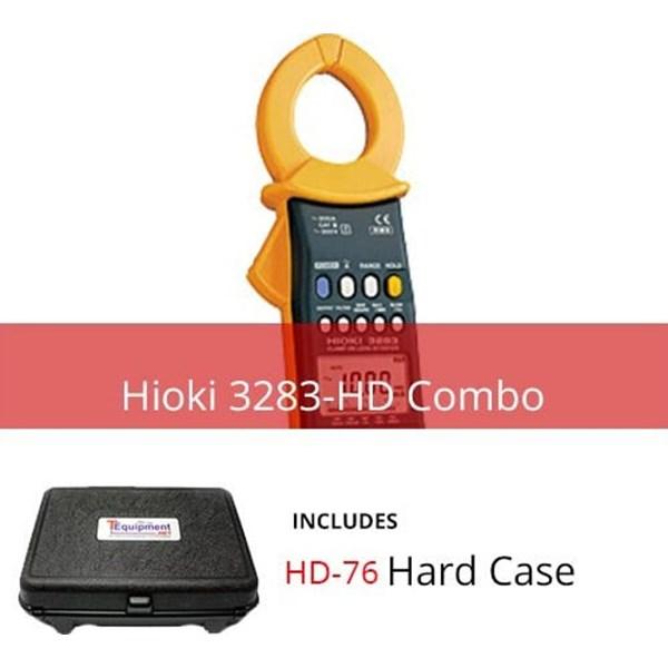Hioki 3283-HD Clamp On Leak Hi-Tester with Multipurpose Hard Case