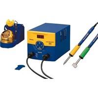 Hakko FM203-DP Dual Port Soldering Station with Two FM-2027 Irons