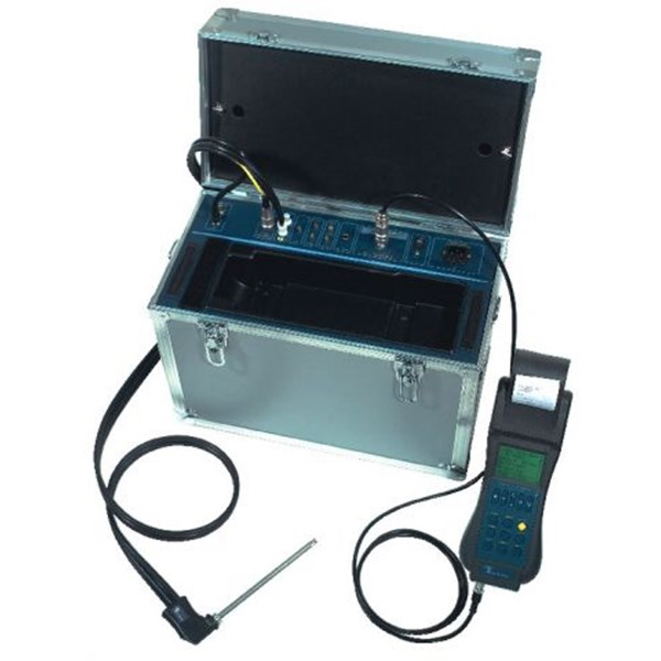 GREENLINE 6000 - Hand-held industrial combustion gas analyzer with 6 sensors
