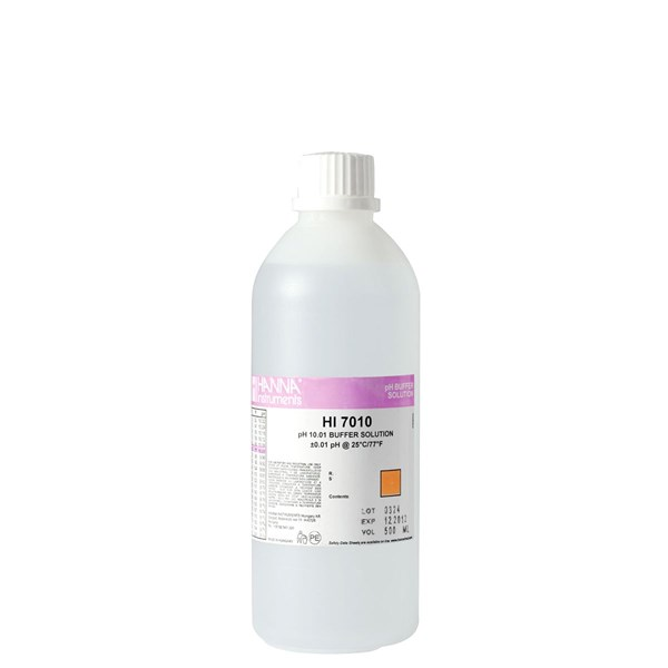 HI7010L  pH 10.01 Calibration Solution (500 mL)