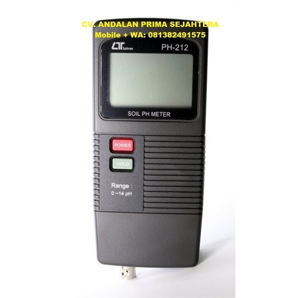 LUTRON PH212 Portable Soil PH Meter