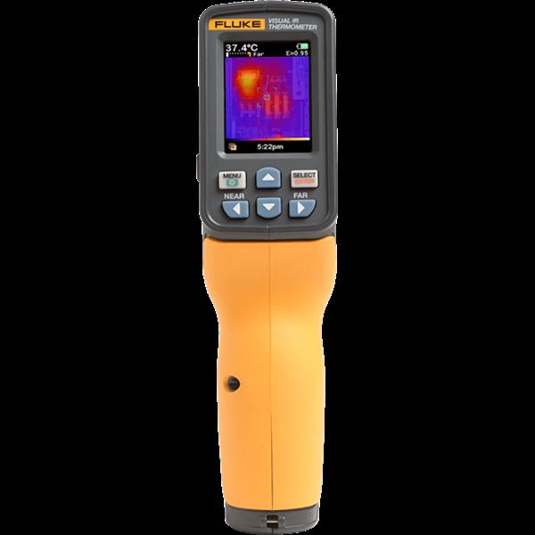 Fluke VT04A IR Thermometer - IR Temperature Max: 482 F, IR Temperature Min: 14 F, Field View Ratio (Spot Ratio): 9:1