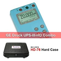 GE Druck UPS-III-HD mA and Voltage Calibrator with Hard Case