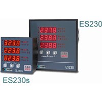 Dranetz ES230S5AS Energy Meter, Harmonics, 5A, 85-253Vac/dc, 96mm x 96mm