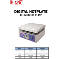 B-ONE Digital Hotplate Aluminium Plate