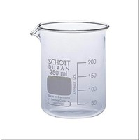DURAN 211063604 BEAKER LOW FORM WITH SPOUT 250 ml - READY STOCK