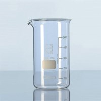DURAN 211064103 BEAKER LOW FORM WITH SPOUT 400 ml - READY STOCK