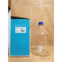 DURAN 218017304  Laboratory Bottle, with cap 5000 ml - Ready Stock