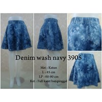 Rok Katun Denim Wash