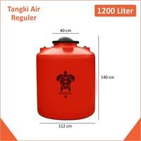 Tangki Air Kapasitas 1200 Liter Orange