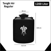 Tangki Air Kapasitas 1200 Liter Hitam