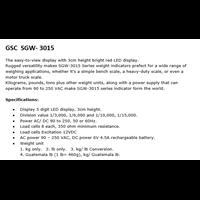 Jual GSC SGW - 3015  2