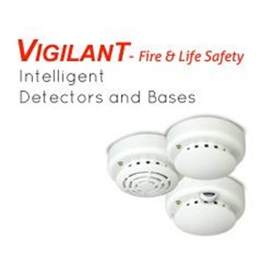 Edwards Vigilant Intelligent Smoke & Heat Detector