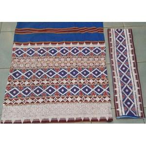Kain Tapis Sarung Lampung Mata Kibau Model 005