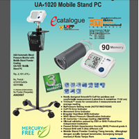 Jual Automatic Blood Pressure Monitor UA-1020 Mobile Stand PC