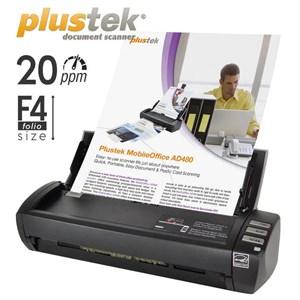 Scanner Plustek Ad480 - 20Ppm - Legal - Duplex