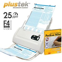Plustek Scanner Adf Periksa Nilai Ps283+Software Ljk 1