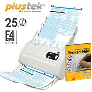 Plustek Scanner Adf Periksa Nilai Ps283+Software Ljk