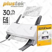 Plustek Scanner Faktur Pajak Ps396+Sofw.Faktur Pajak 1