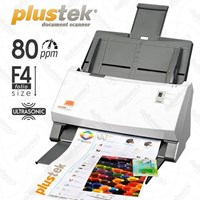 Scanner Otomatis Plustek Ps456u-80Ppm-Legal-Duplex 1