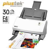 Scanner Otomatis Plustek Ps396-30Ppm-Legal-Duplex 1