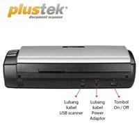 Distributor Scanner Plustek Ad470  18Ppm  Legal F4 Duplex 3