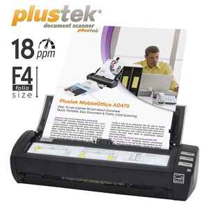 Scanner Plustek Ad470  18Ppm  Legal F4 Duplex