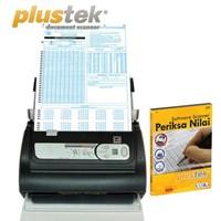 Distributor Plustek Scanner Periksa Nilai Ps286plus + Sofware 3