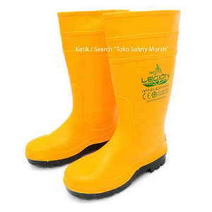 Sepatu Safety PVC Boot Legion
