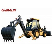 Mesin Backhoe loader WZ30-25 1