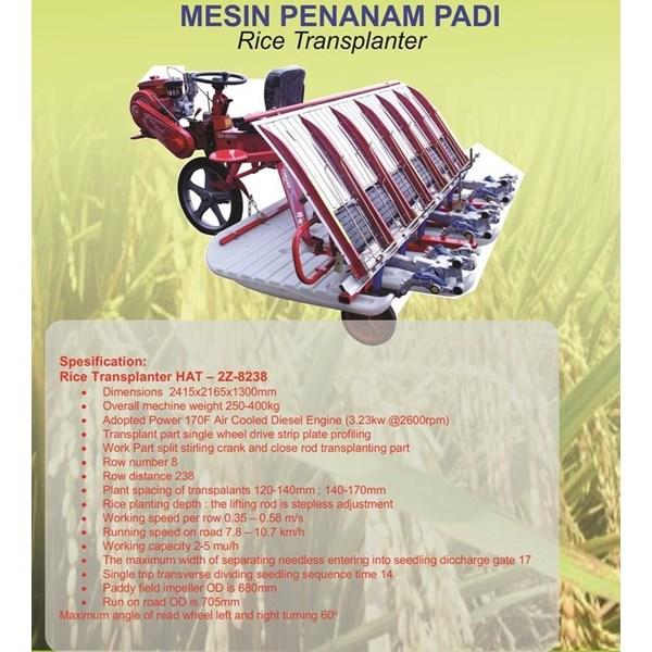 Mesin Rice Transplanter ( Penanam Padi )