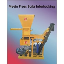 Mesin Bata Interlocking