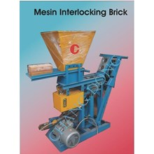 Mesin Cetak Bata Interlocking Brick