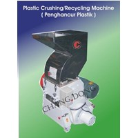Jual Plastic Crushing & Recycling Machine
