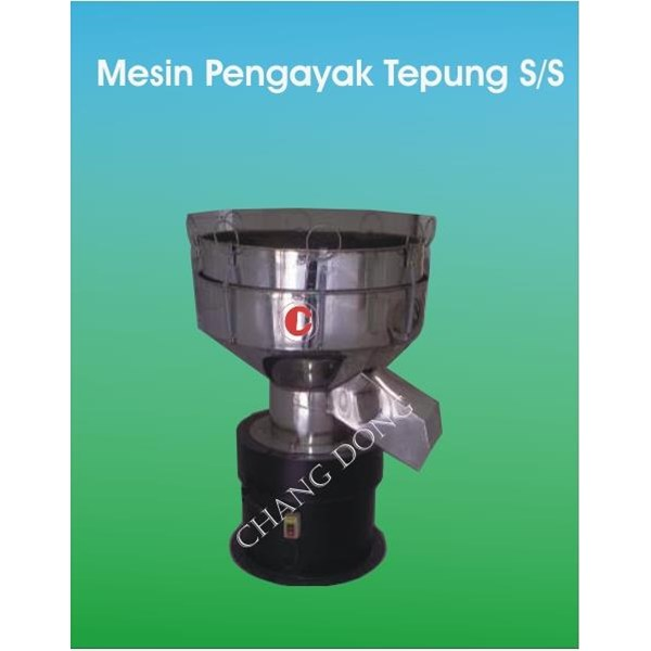 Mesin Pengayak Tepung Staanless Steel