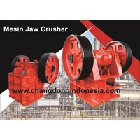 Mesin Pemecah Batu Jaw Crusher 400 X 600