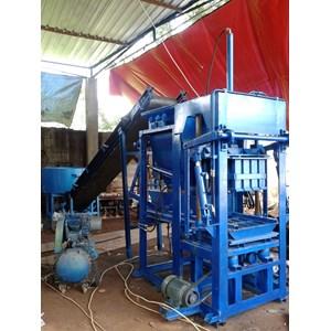 Mesin Cetak Bata / Mesin Paving Block Semi