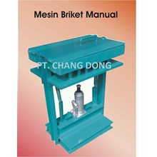 Mesin Pencetak Briket Model Manual