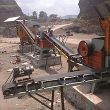Mesin Jaw Crusher Complit Line