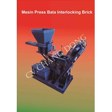 Mesin Press Interlocking Brick