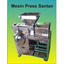 Mesin Pengolah Buah & Sayur Press Santan