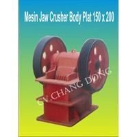 Jual Mesin Pertambangan Jaw Crusher 150 X 250 Body Plat