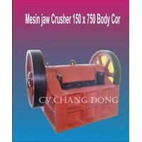 Jual Mesin Petambangan Jaw Crusher 150 X 750