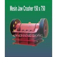 Jual Mesin Perambangan Jaw Cruhser 150 X 750 Body Plat