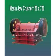 Mesin Perambangan Jaw Cruhser 150 X 750 Body Plat