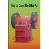 Jual Mesin Pertambangan Jaw Crusher 250 X 400 Body Plat