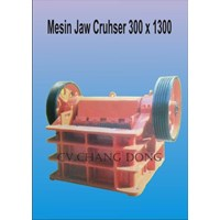 Jual Mesin Pertambangan Jaw Cruhser 300 X 1300